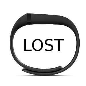 lost fitbit
