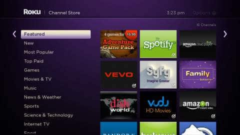 Roku Interface