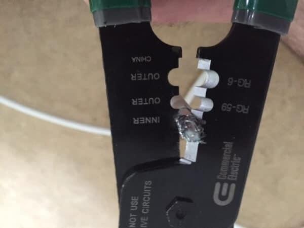 remove foil shielding
