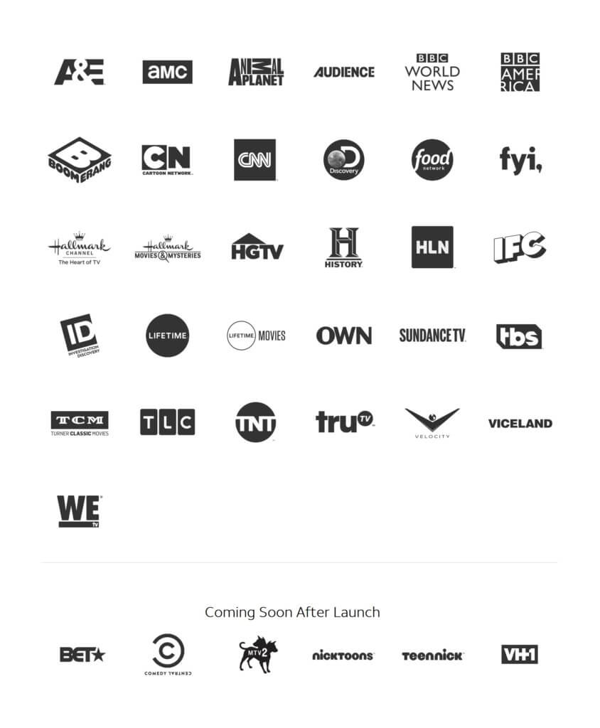 watchTV channel lineup