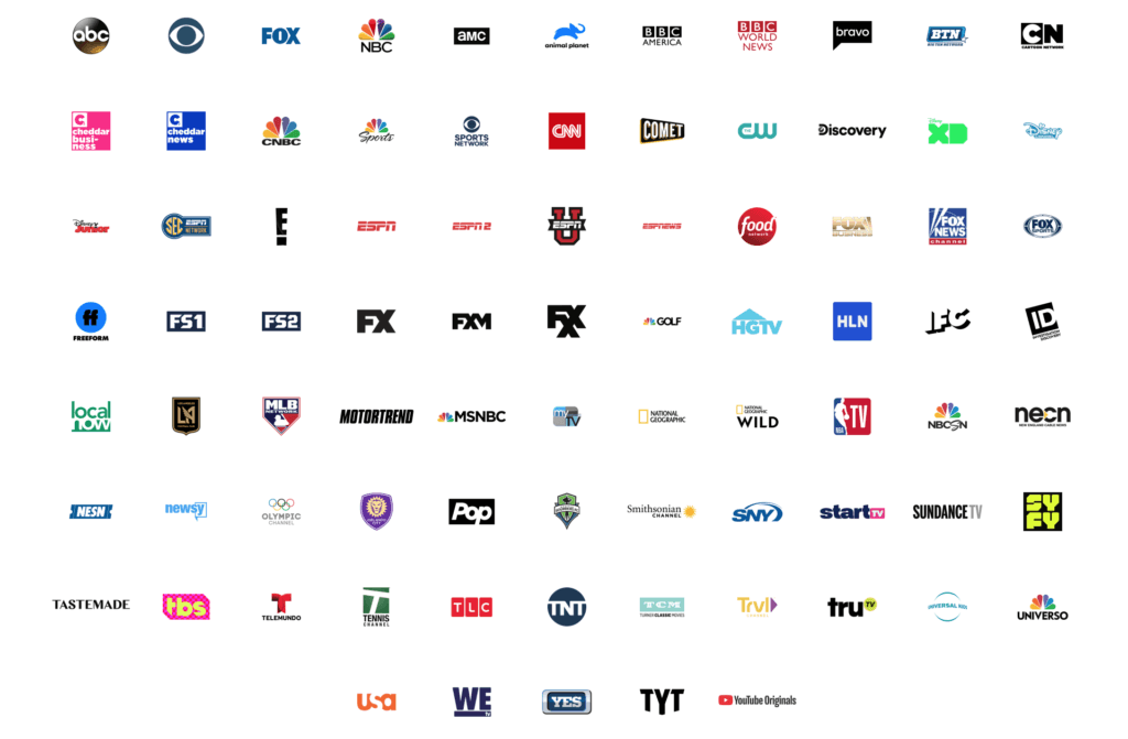 image regarding Spectrum Printable Channel Guide named YouTube Television Channel Record, Rate and Study Grounded Rationale