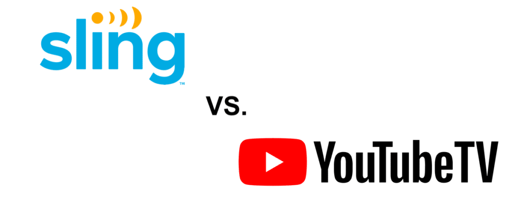 youtube tv vs sling