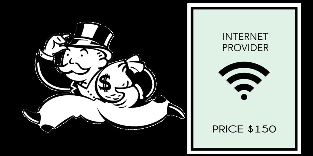 internet provider monopoly