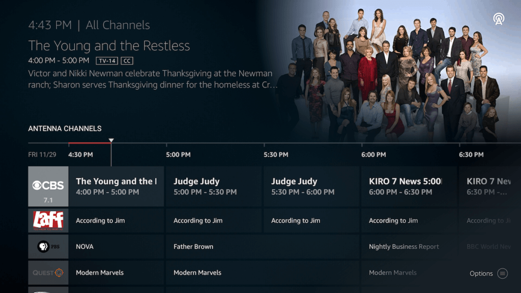 fire tv channel guide