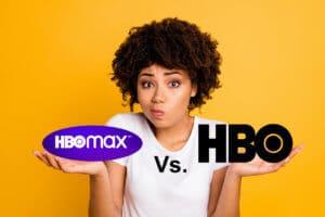 hbo max vs HBO