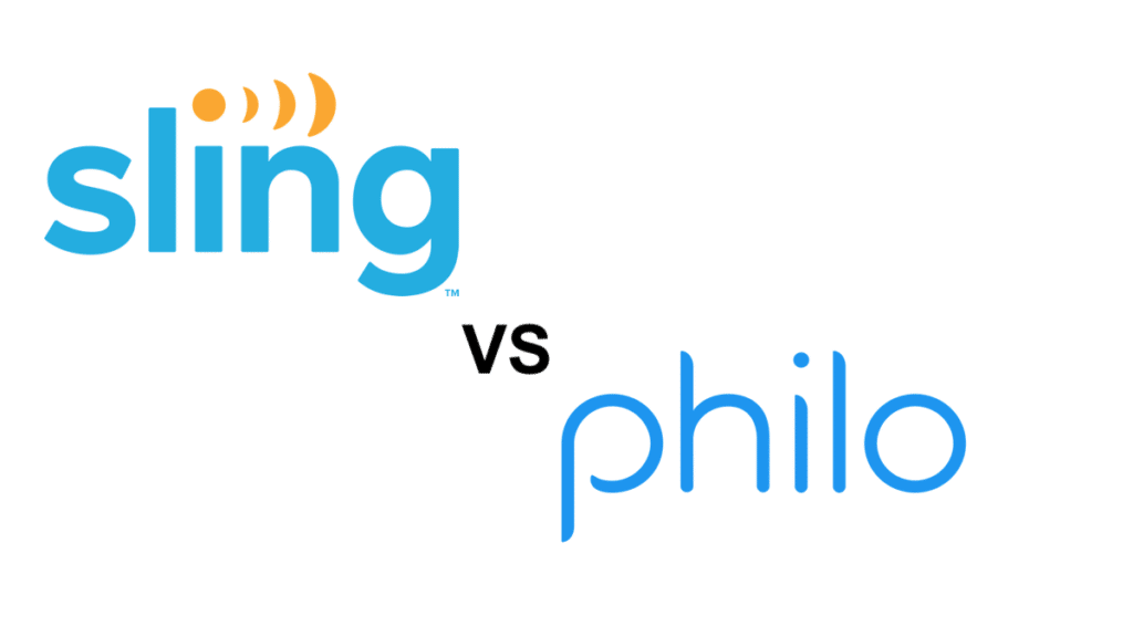 Sling TV vs Philo