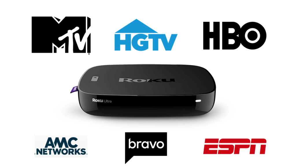 cable channels on roku