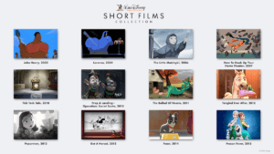 short films on disney plus