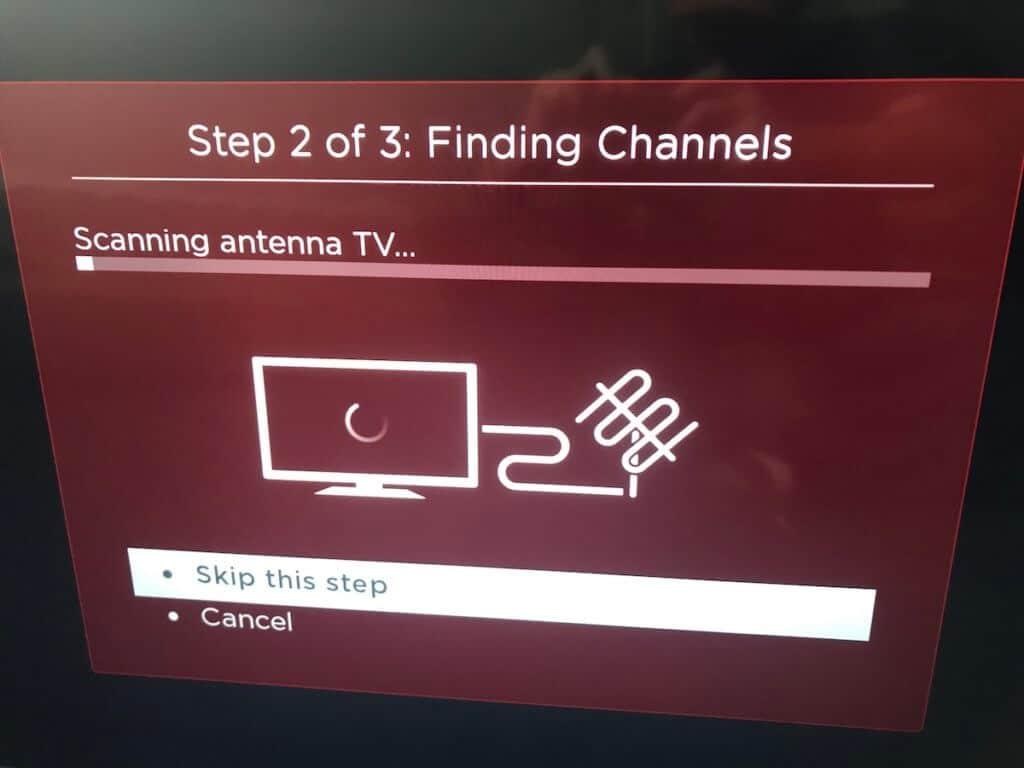 scanning channels