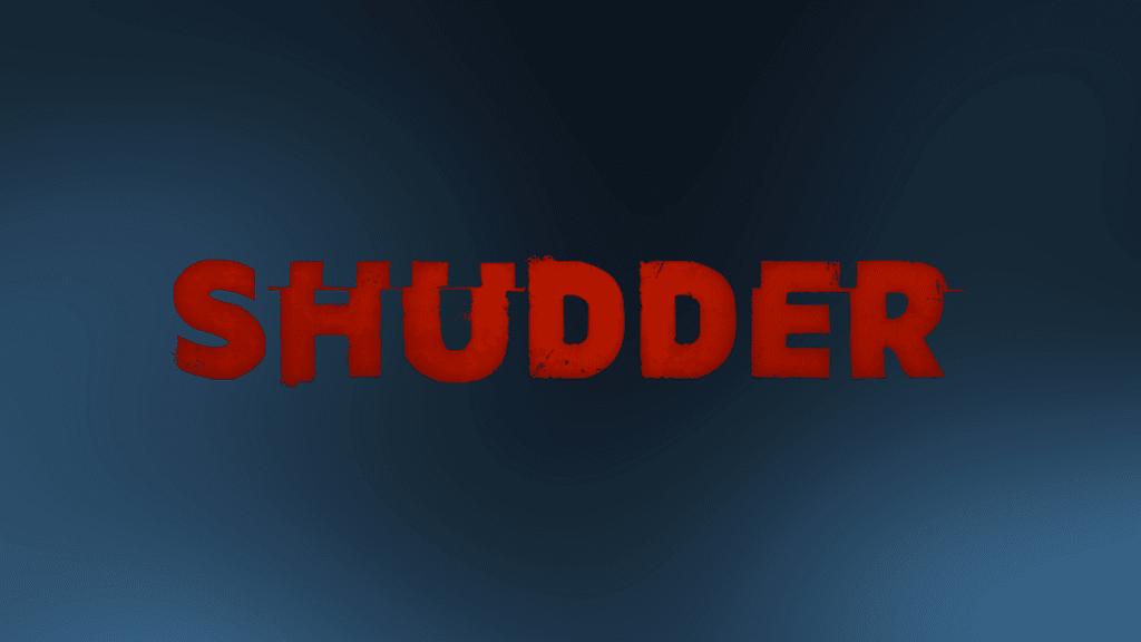 shudder logo on smokey background