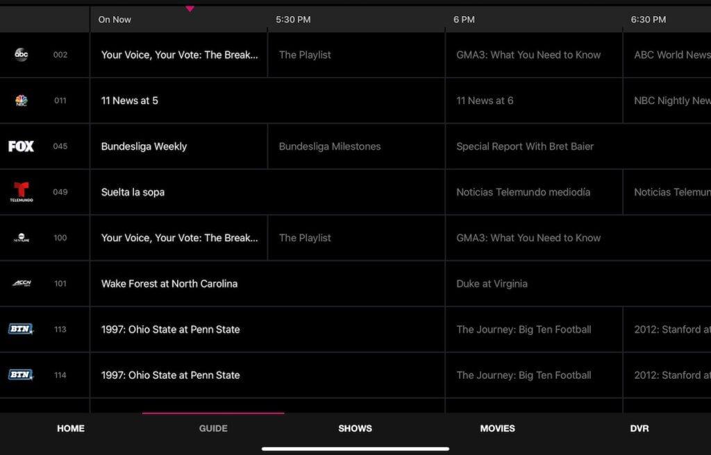 TVision Guide