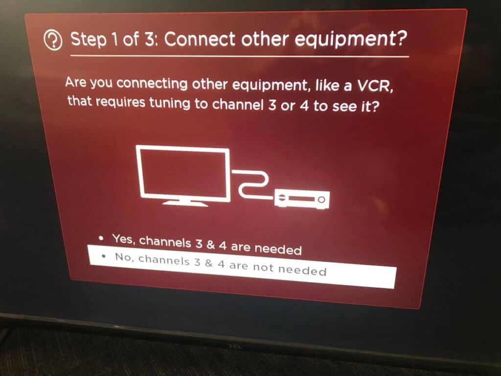 roku TV VCR