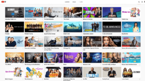 youtube tv shows on demand