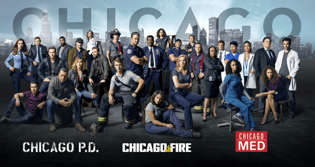 Chicago Med, Chicago Fire, and Chicago P.D