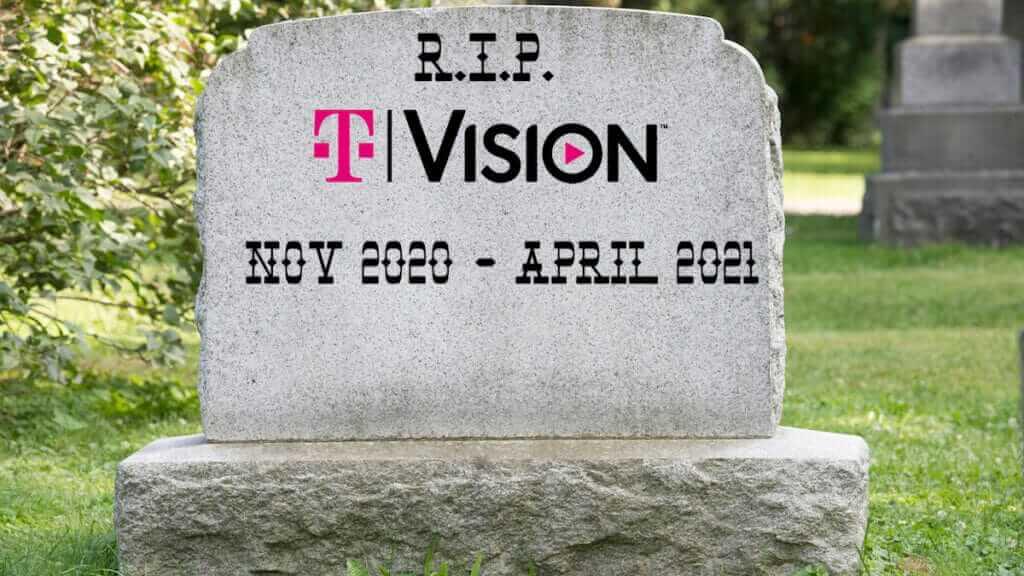Vision Shuts down