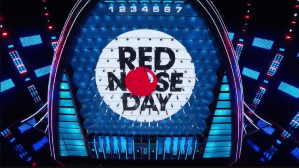 red nose day the wall