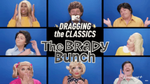 the brady bunch dragging the classics