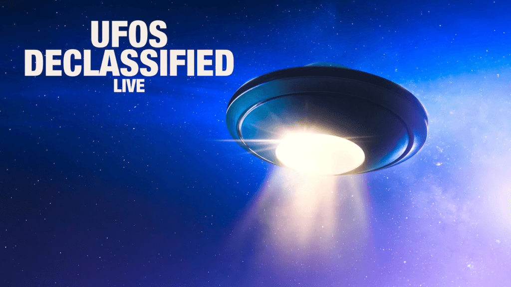 ufos declassified live