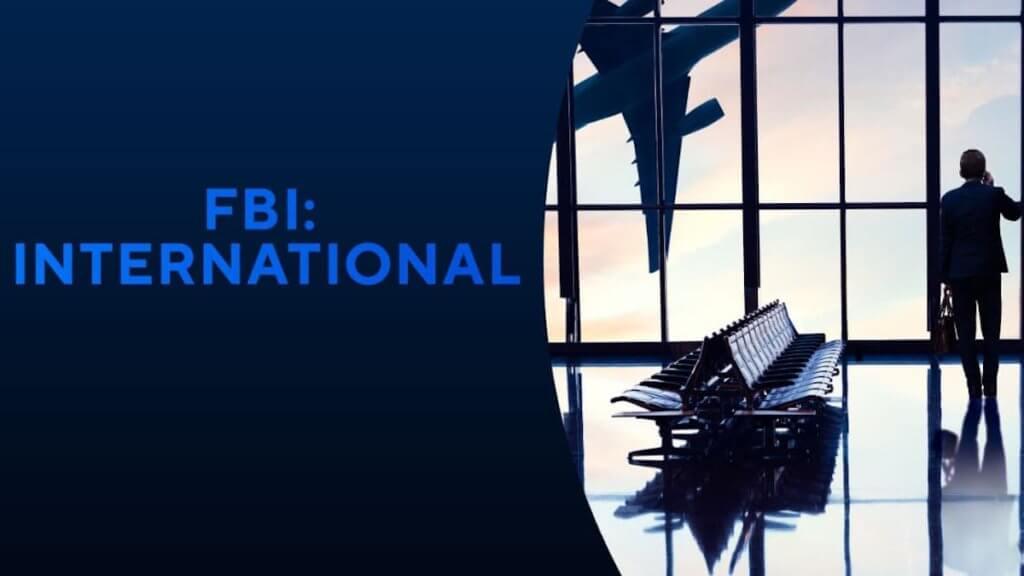 Logo card for show FBI: International