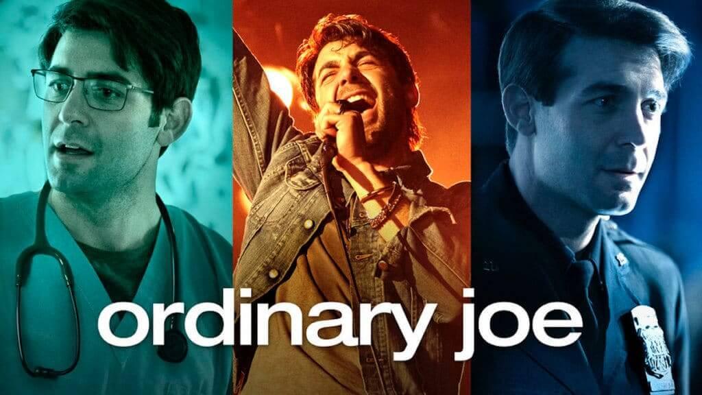 Logo of tv series ordinary Joe
