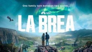 show logo for La Brea series set in prehistoric rift