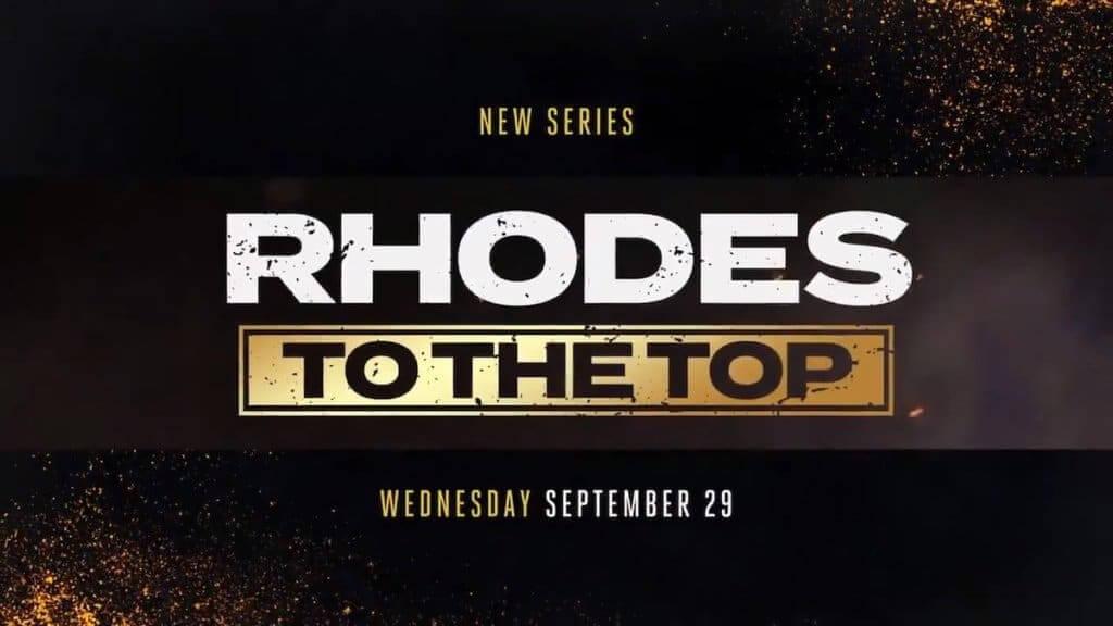 Rhodes to the top show logo