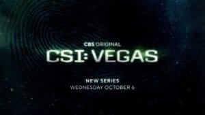 Logo text for CSI: Vegas