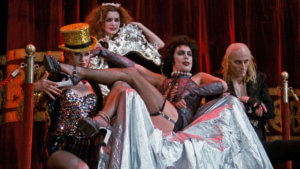 Cast members of The Rocky Horror Picture Show