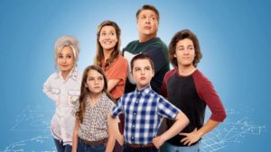 Cast family photo from young sheldon